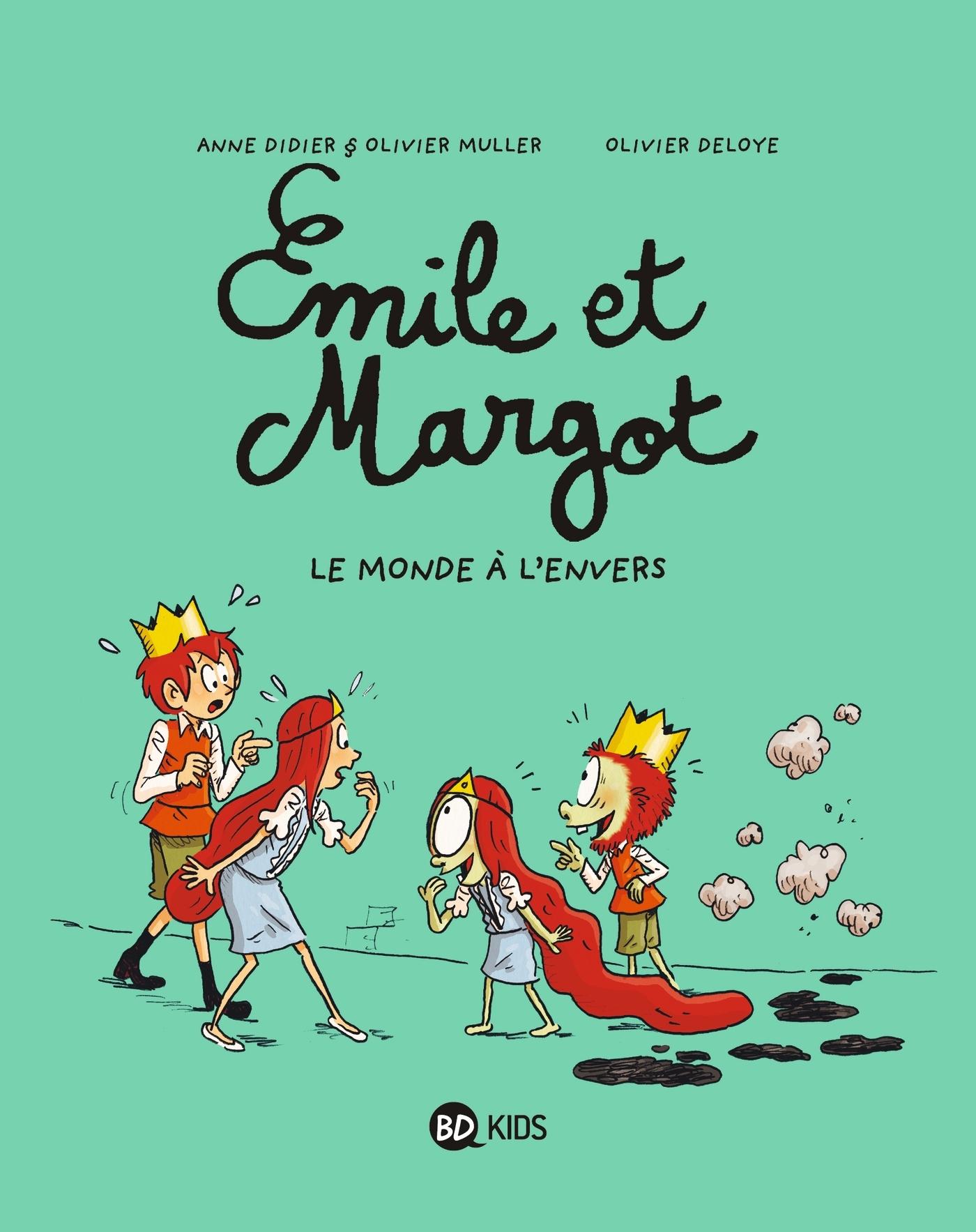 EMILE ET MARGOT T05 L'ENVERS DU DECOR