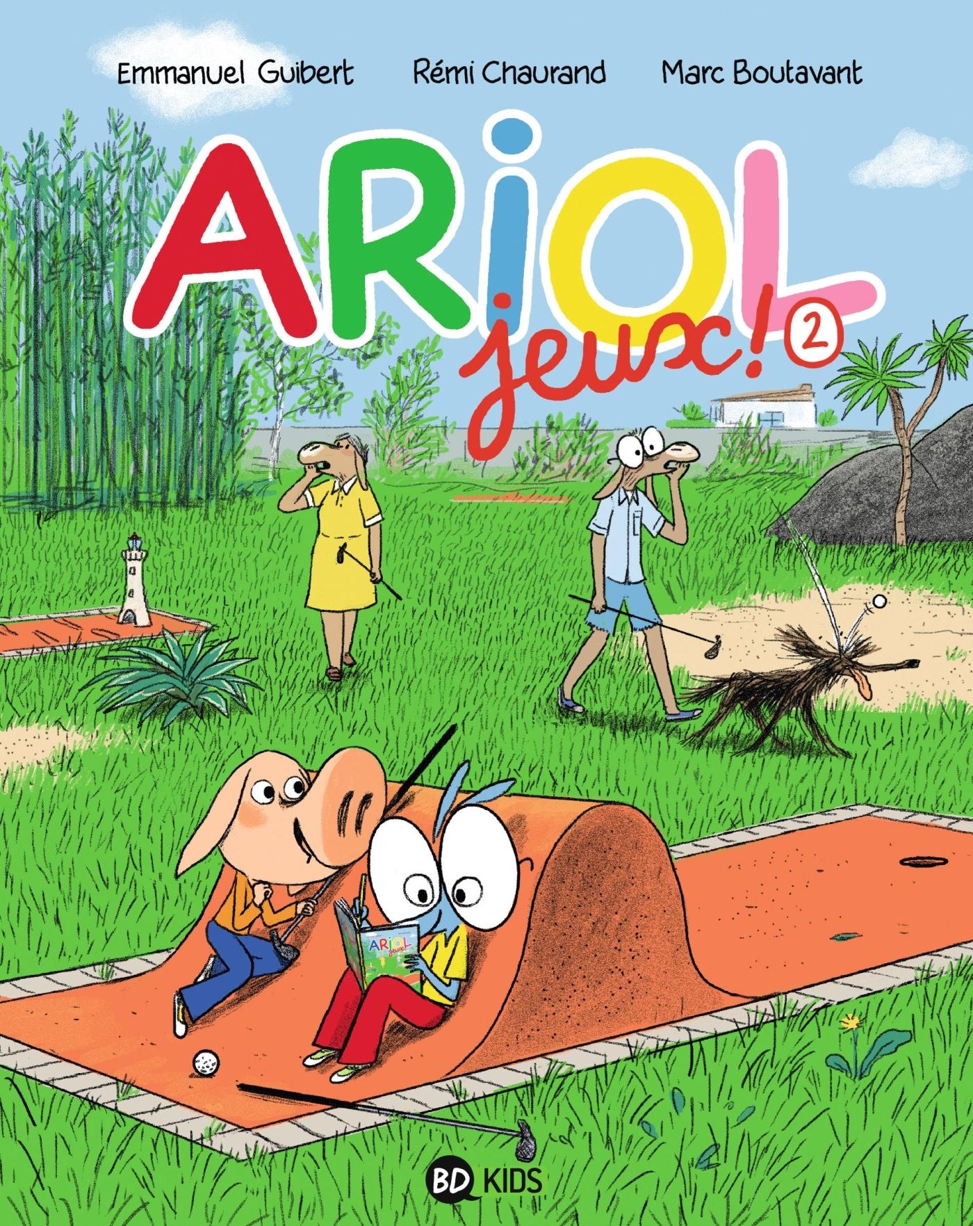 CAHIER DE JEUX ARIOL 2
