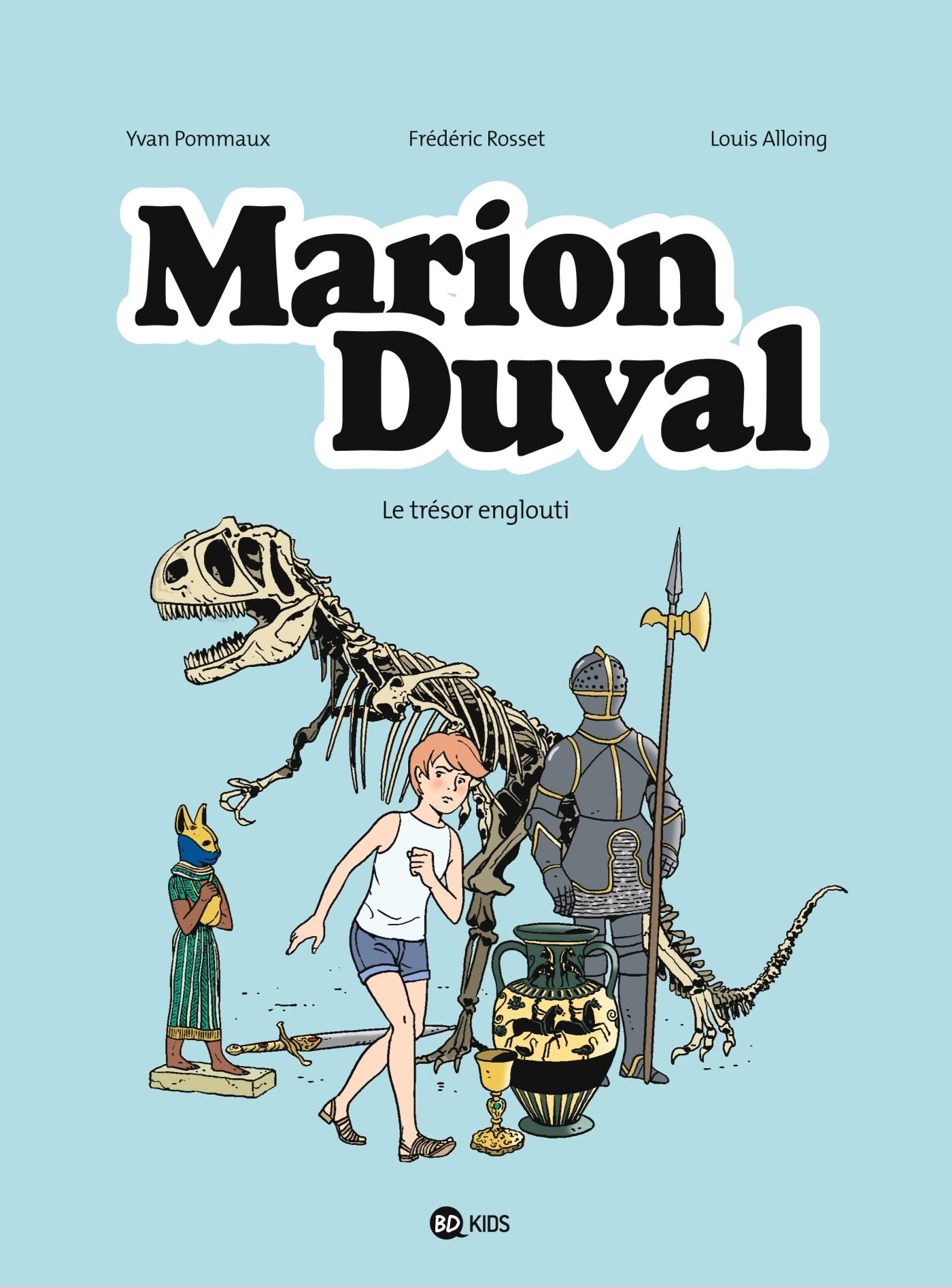 MARION DUVAL T24 LE TRESOR ENGLOUTI