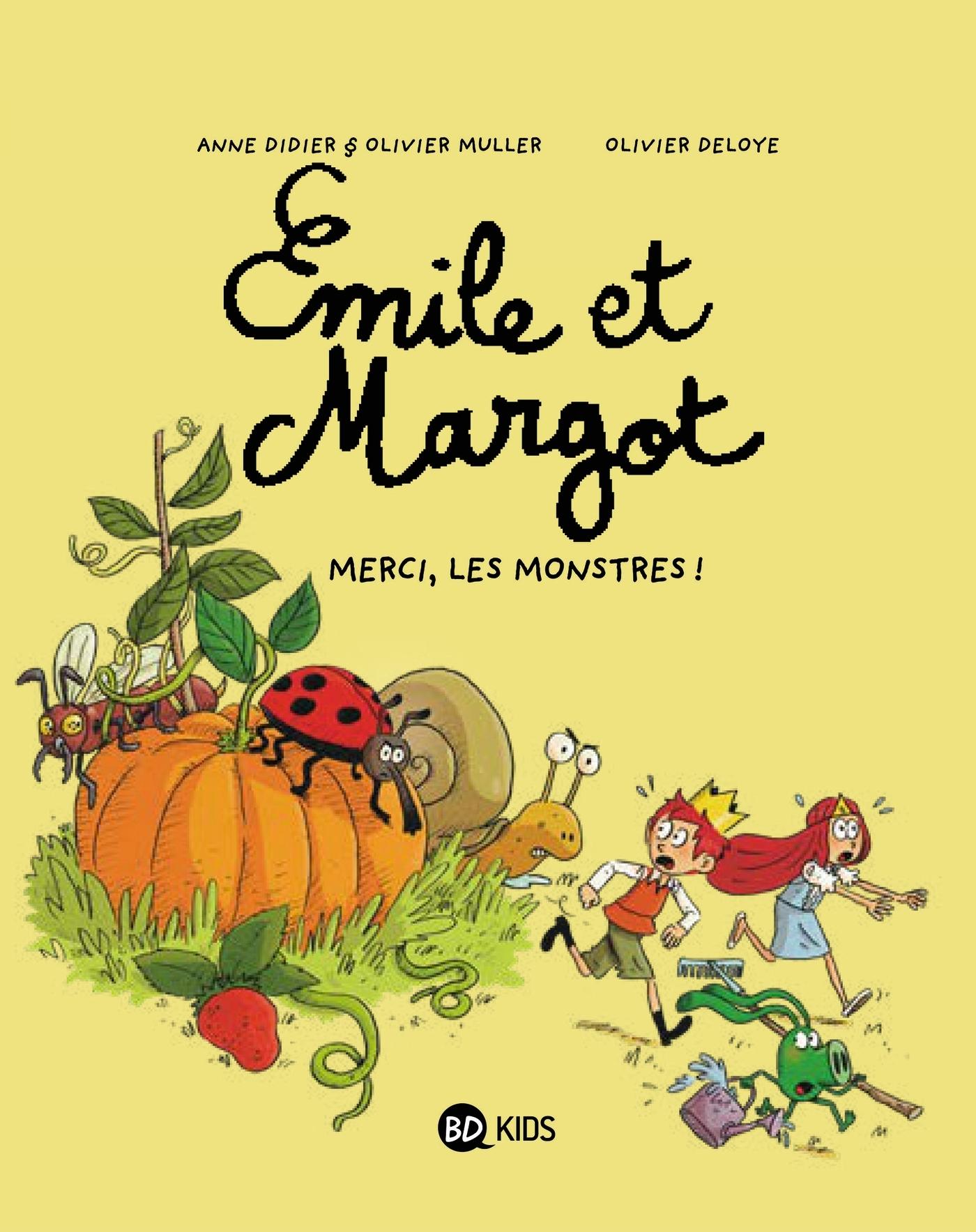 EMILE ET MARGOT - MERCI, LES MONSTRES ! - T4