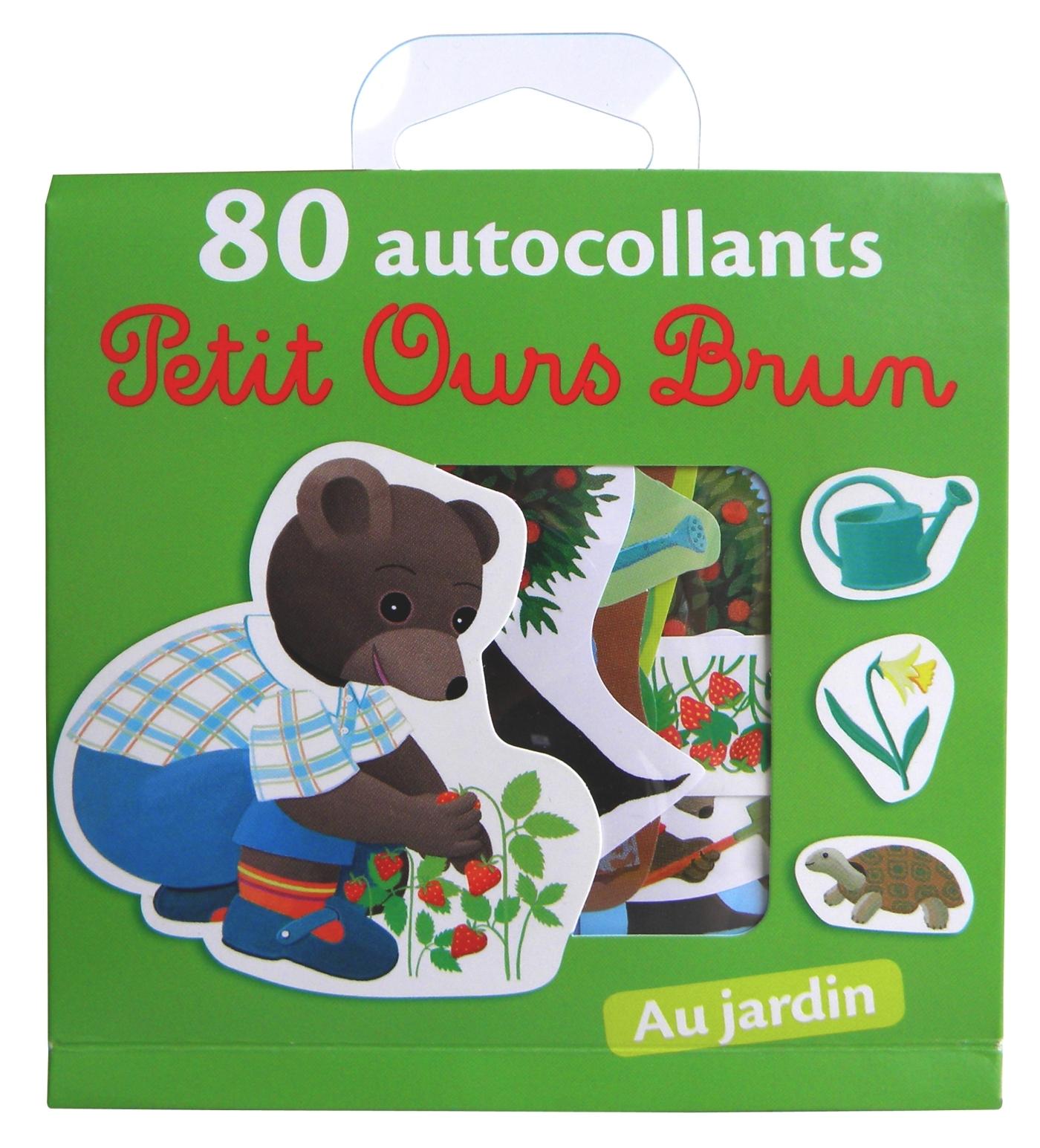 POB AUTOCOLLANTS LE JARDIN