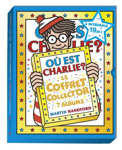 OU EST CHARLIE ? LE COFFRET COLLECT'OR - 7 ALBUMS