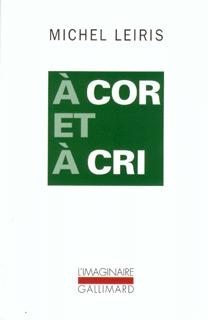 A COR ET A CRI