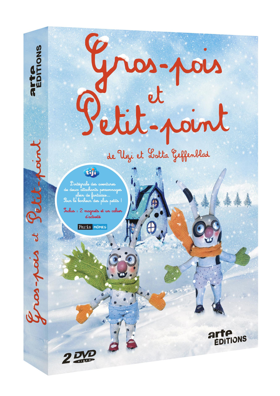 GROS POIS PETIT POINT V1 ET V2 - 2 DVD