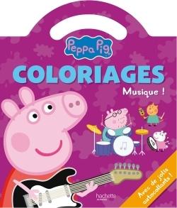 PEPPA PIG / COLORIAGES POIGNEE - LA MUSIQUE