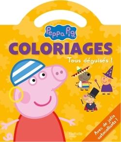 PEPPA PIG / COLORIAGES POIGNEE - TOUS DEGUISES