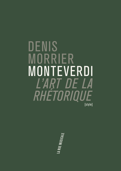 MONTEVERDI ET L'ART DE LA RHETORIQUE