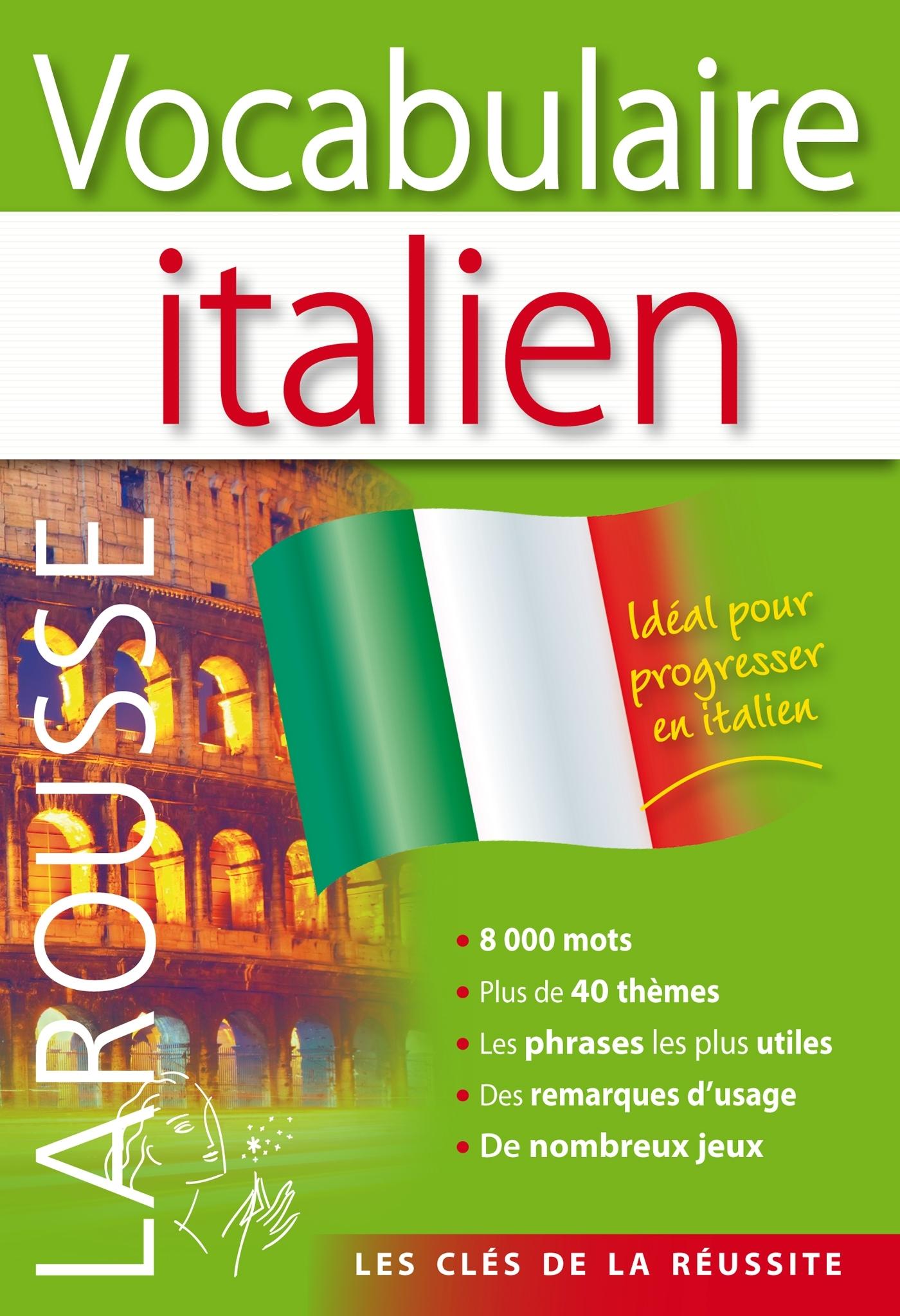 VOCABULAIRE ITALIEN