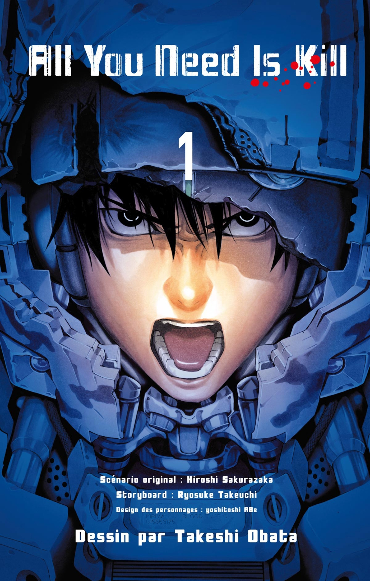 ALL YOU NEED IS KILL T01
