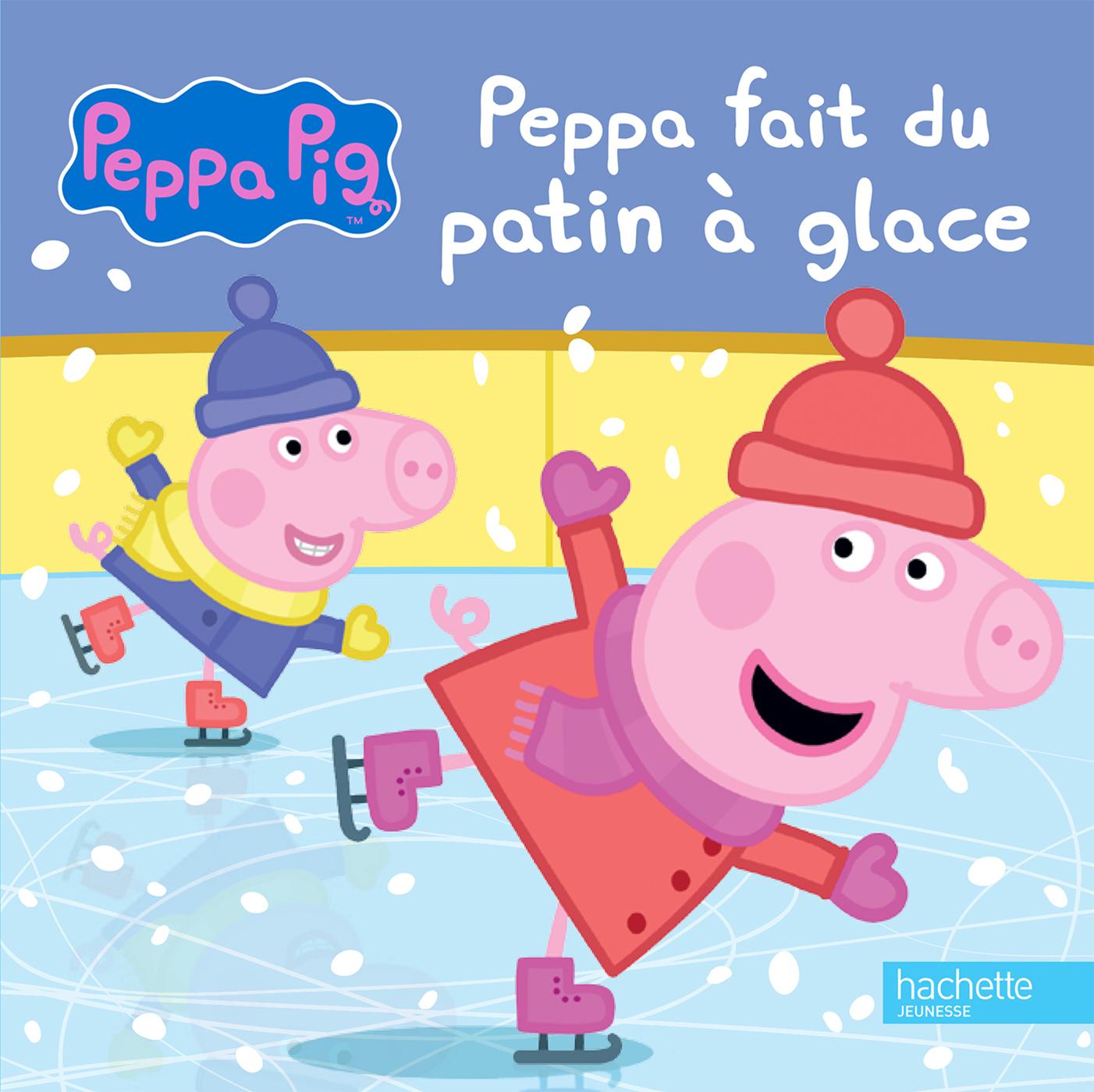 PEPPA PIG - PEPPA FAIT DU PATIN A GLACE