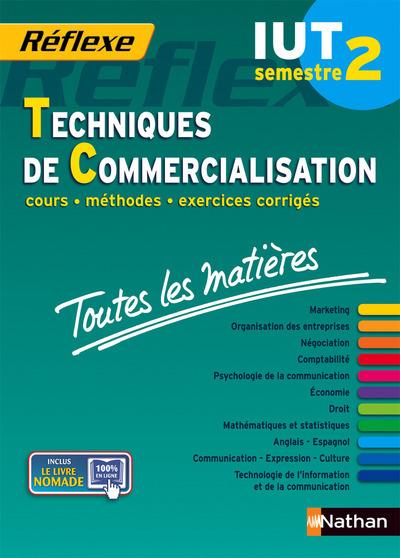 TECNIQUES DE COMMERCIALISATION IUT SEMESTRE 2 REFLEXE