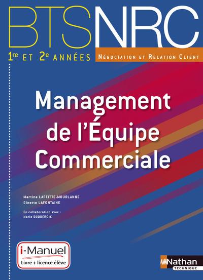 MANAGEMENT DE L'EQUIPE COMMERCIALE BTS NRC