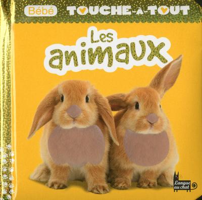 BEBE TOUCHE-A-TOUT LES ANIMAUX