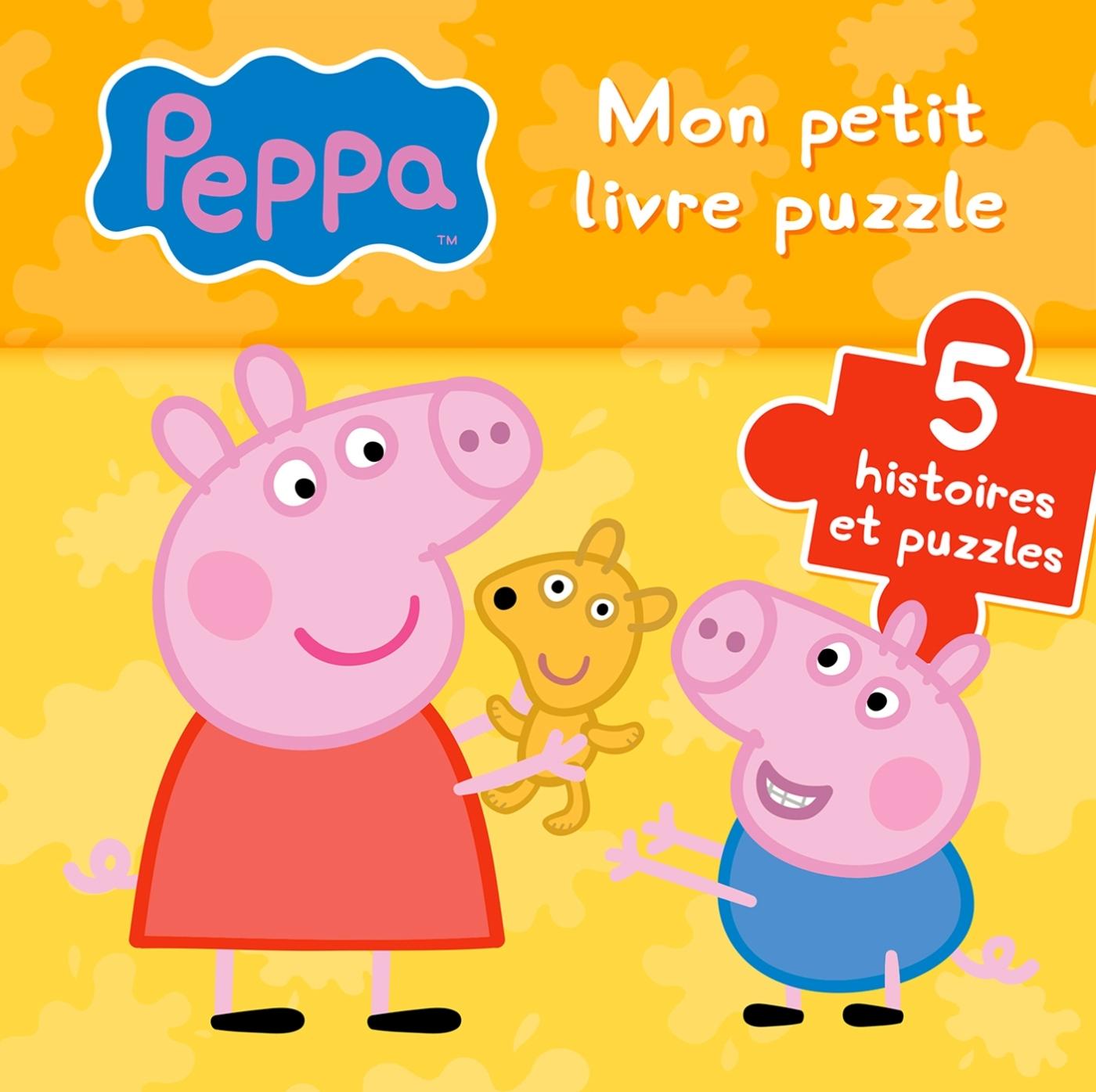 PEPPA / MON PETIT LIVRE PUZZLE