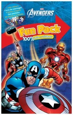 MARVEL, AVENGERS, FUN PACK