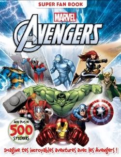 AVENGERS , MARVEL , MON SUPER FAN BOOK