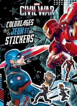 MARVEL, CIVIL WAR, COLOS JEUX, STICKERS