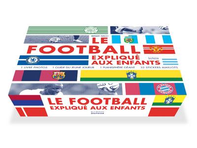 LE FOOTBALL EXPLIQUE AUX ENFANTS. COFFRET