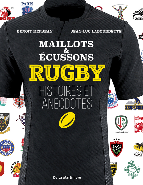 RUGBY, MAILLOTS ET ECUSSONS