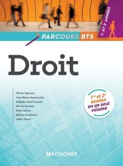 PARCOURS DROIT BTS 1RE ET 2E ANNEES