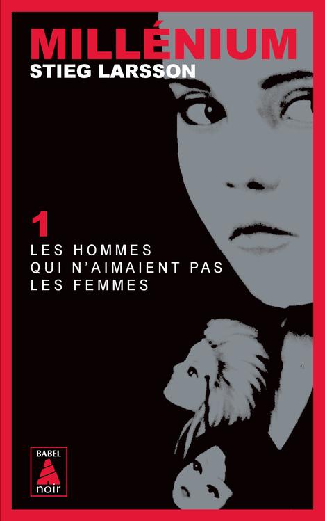 MILLENIUM T1 LES HOMMES QUI N'AIMAIENT PAS LES FEMMES BABEL NOIR 37