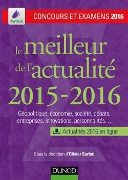 LE MEILLEUR DE L'ACTUALITE 2015-2016 - CONCOURS ET EXAMENS 2016