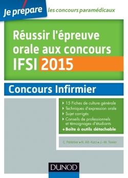 REUSSIR L'EPREUVE ORALE AU CONCOURS IFSI 2015