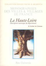 HAUTE-LOIRE - DESCRIPTION HISTORIQUE ET STATISTIQUE (DEPARTEMENT DE LA)