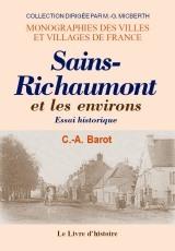 SAINS-RICHAUMONT ET SES ENVIRONS