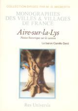 AIRE-SUR-LA-LYS (LE CANTON D') - NOTICE HISTORIQUE