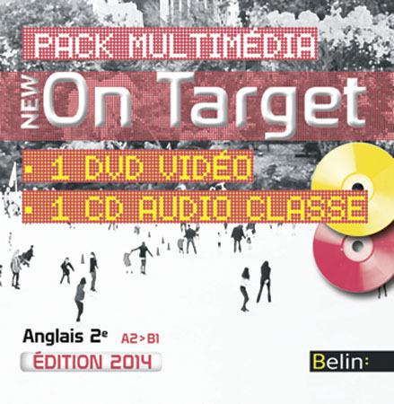 PACK NEW ON TARGET 2DE NED 2014 CD CLASSE + VIDEO CLASSE