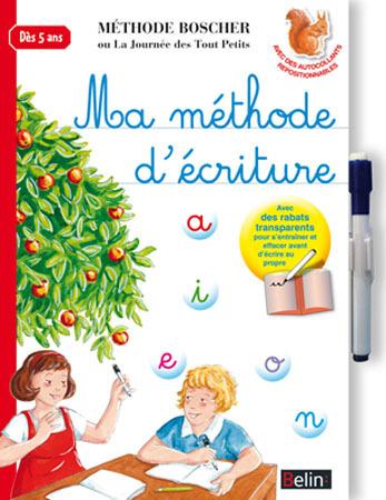 MA METHODE D'ECRITURE BOSCHER