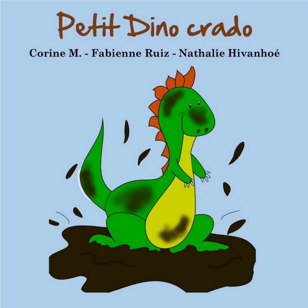 PETIT DINO CRADO - ALBUM ILLUSTRE ENFANTS DE 0 A 5 ANS.