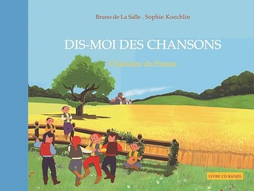 DIS MOI DES CHANSONS DE FRANCE LIVRE CD