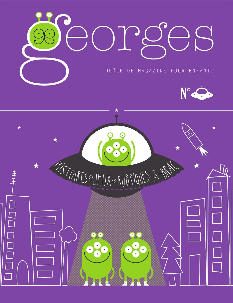 MAGAZINE GEORGES-N SOUCOUPE