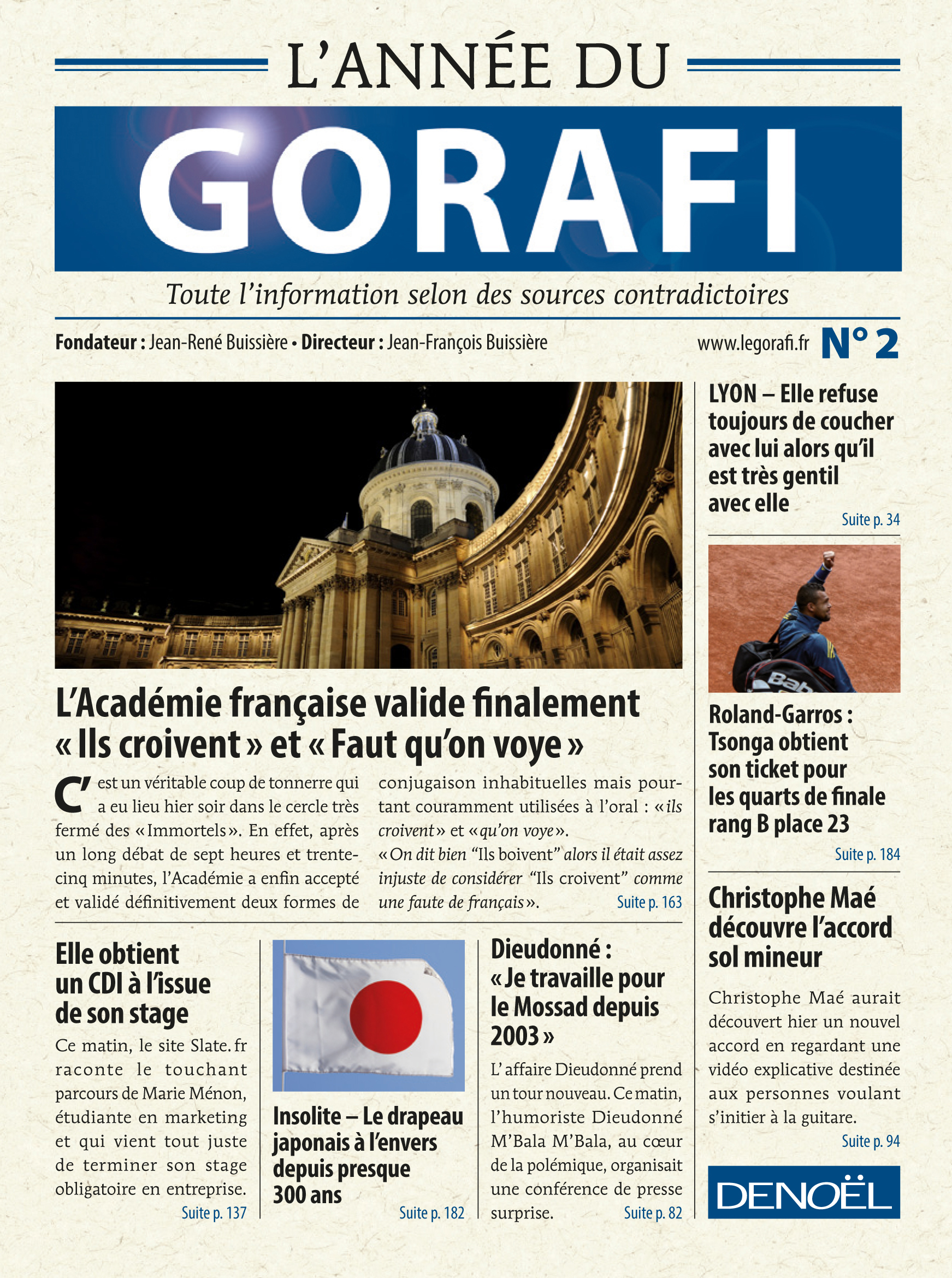 L'ANNEE DU GORAFI II