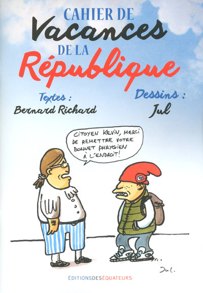 CAHIER DE VACANCES DE LA REPUBLIQUE