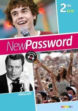 NEW PASSWORD ENGLISH 2DE - COFFRET CLASSE 2 CD AUDIO + DVD