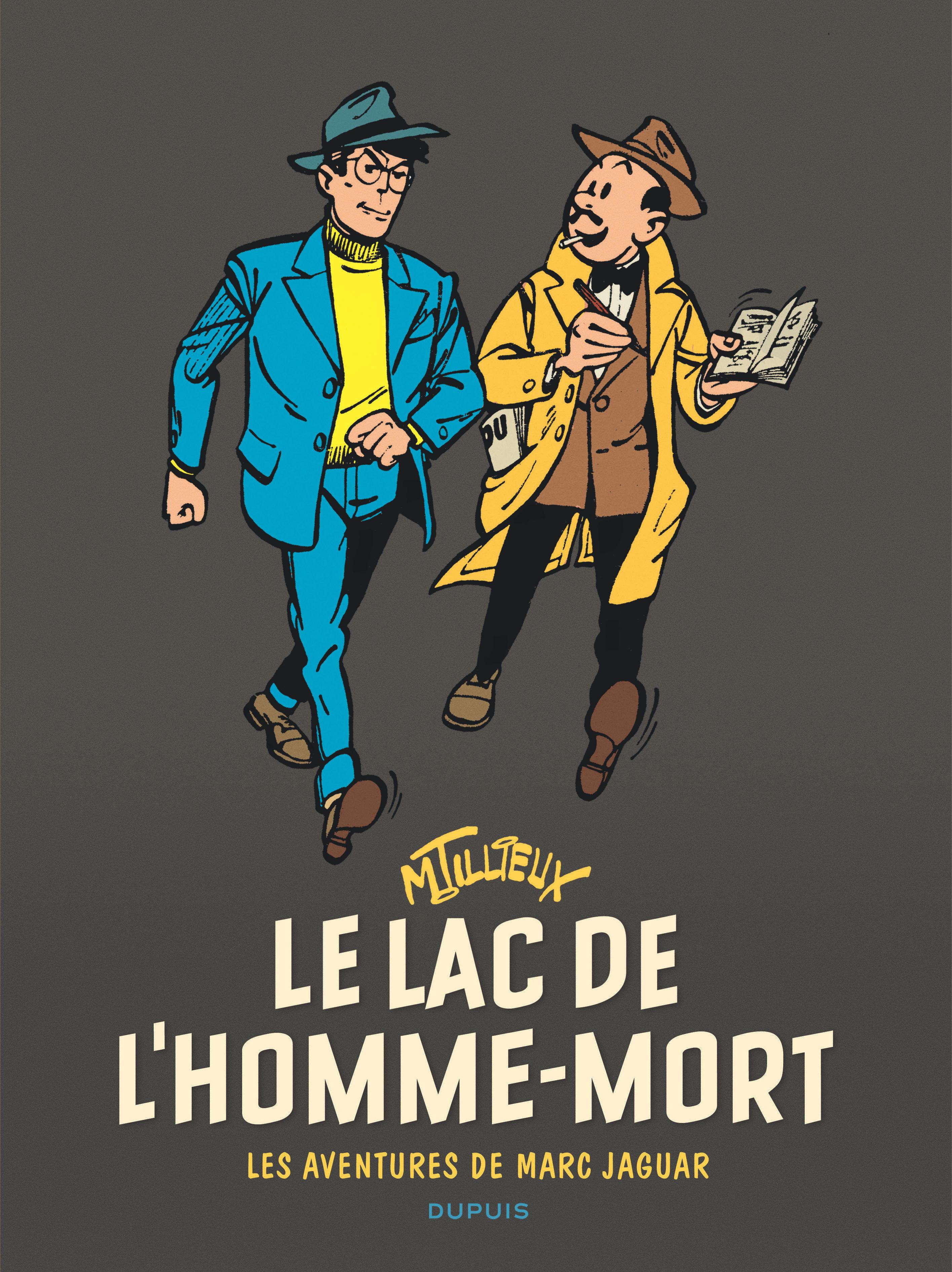MARC JAGUAR T1 MARC JAGUAR - TOME 1 - LE LAC DE L'HOMME-MORT (REEDITION)