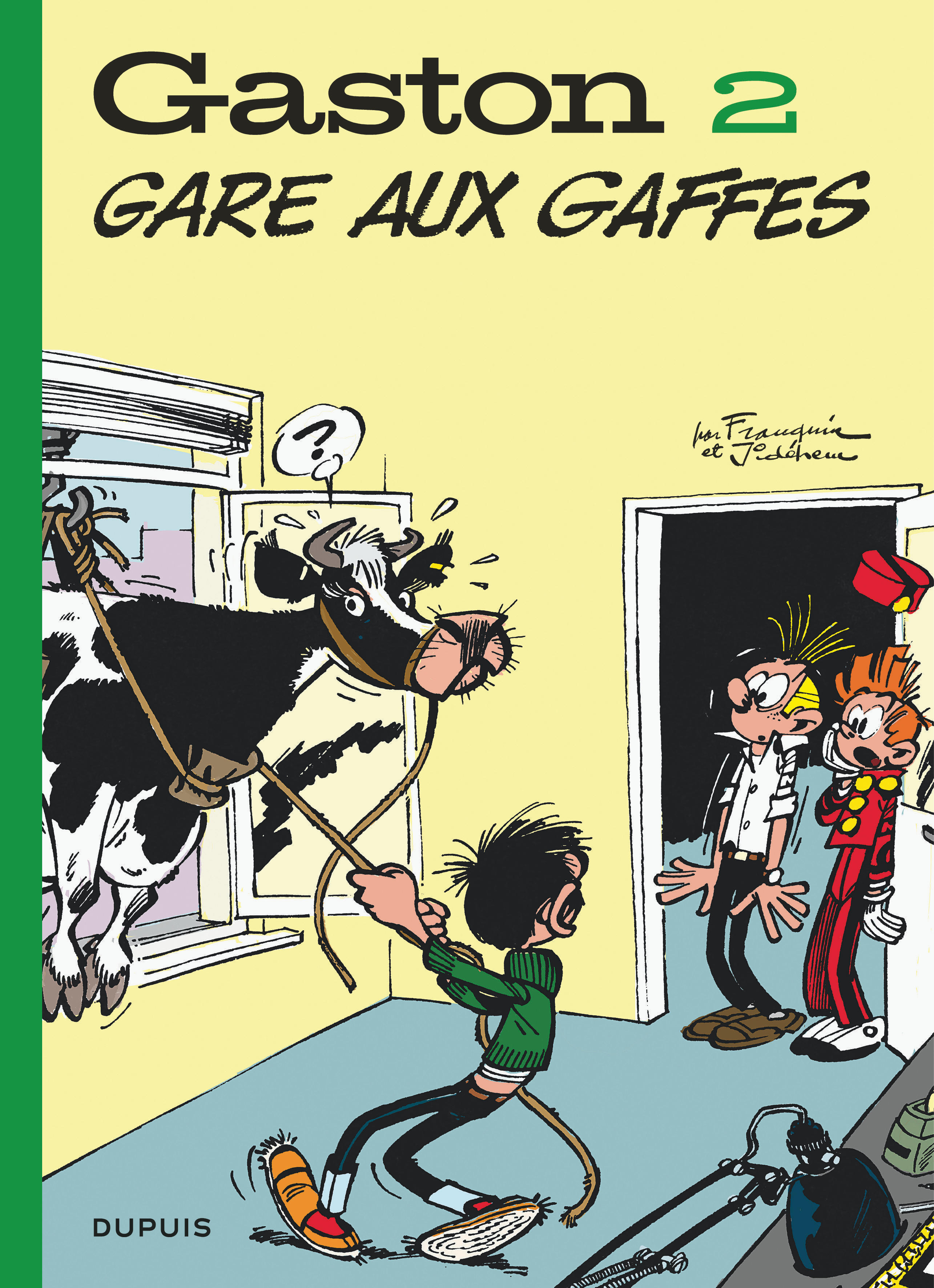 GASTON (EDITION 2018) T2 GASTON (EDITION 2018) - TOME 2 - GARE AUX GAFFES (EDITION 2018)