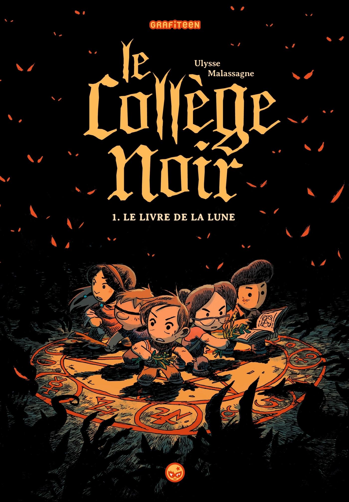 LE COLLEGE NOIR, TOME 01