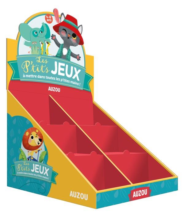PLV PLEINE DE TABLE JEUX CARTES + JEUX VOYAGE (30 VOL)