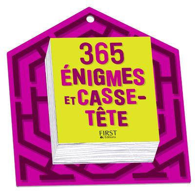 365 ENIGMES ET CASSE-TETE