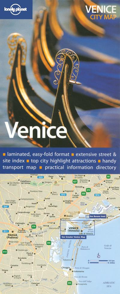 VENICE CITY MAP 1ED -ANGLAIS-