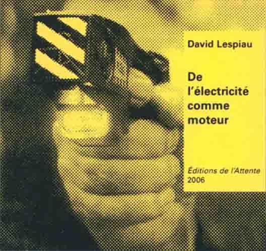 DE L'ELECTRICITE COMME MOTEUR