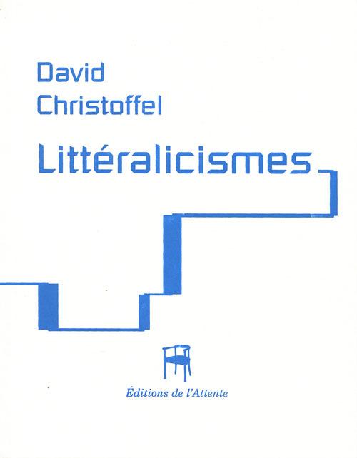 LITTERALICISMES