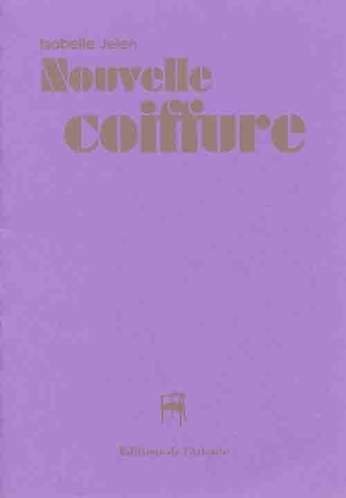 NOUVELLE COIFFURE - LIVRE POSTER