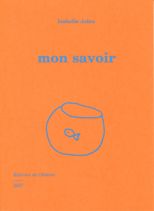 MON SAVOIR