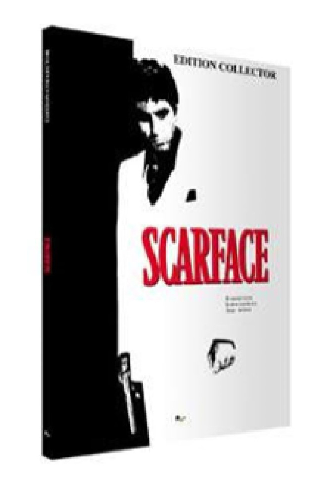SCARFACE EDITION COLLECTOR - LIVRE