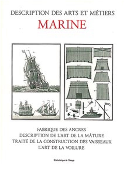MARINE - DESCRIPTION DES ARTS ET METIERS